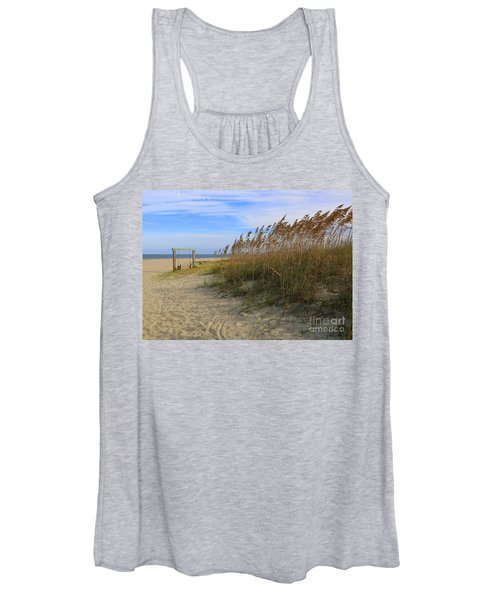 Fall Day On Tybee Island Women's Tank Top