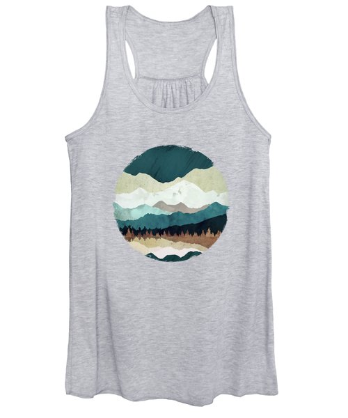 Fall Forest Night Women's Tank Top
