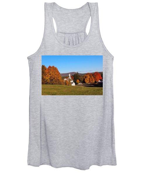 Fall Mountain View Women's Tank Top