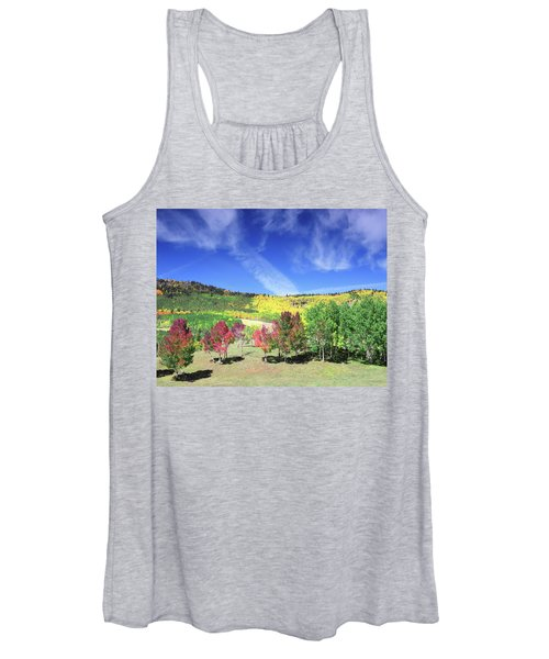 Fall On County Road 12 Women's Tank Top