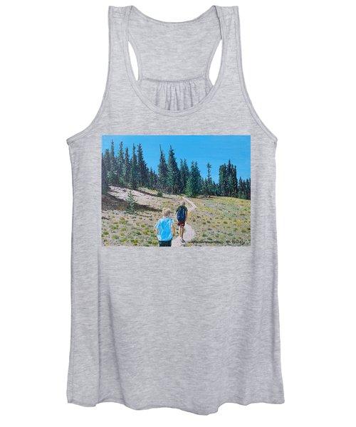 Family Hike Women's Tank Top