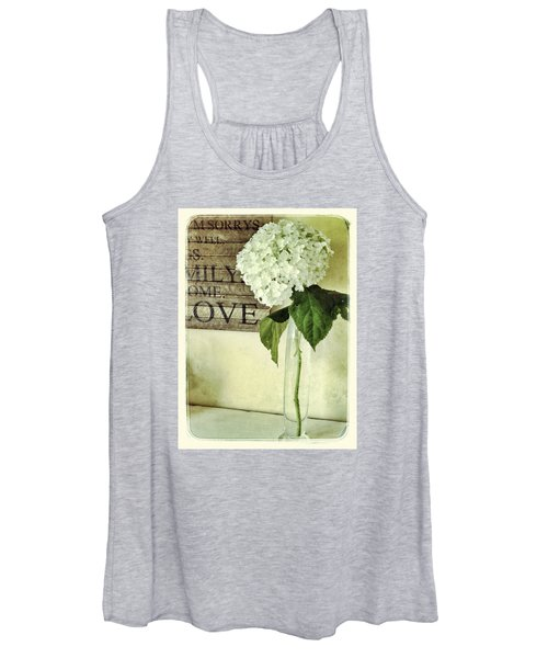 Family, Home, Love Women's Tank Top