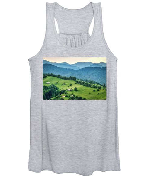 Farm In The Mountains - Romania Women's Tank Top