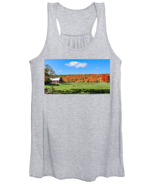 Farm View From Russellville Road Women's Tank Top