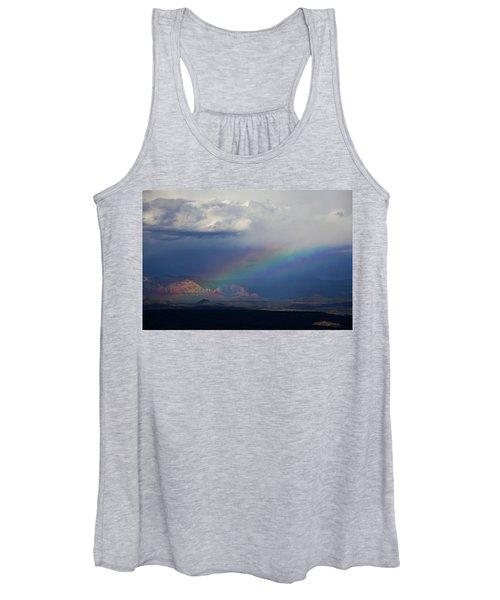 Fat Rainbow, Sedona Az Women's Tank Top
