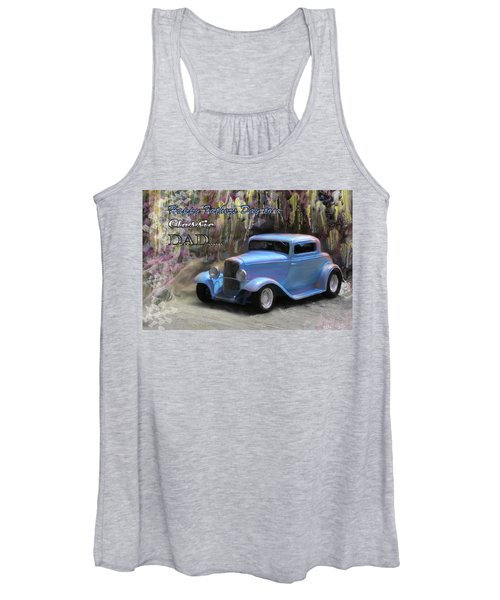 Fathers Day Classic Dad Women's Tank Top