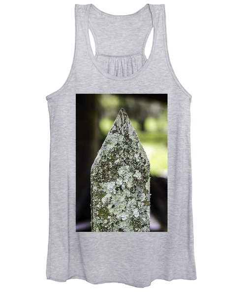 Fence With Moss Women's Tank Top