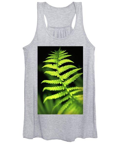 Fern Leaf Women's Tank Top