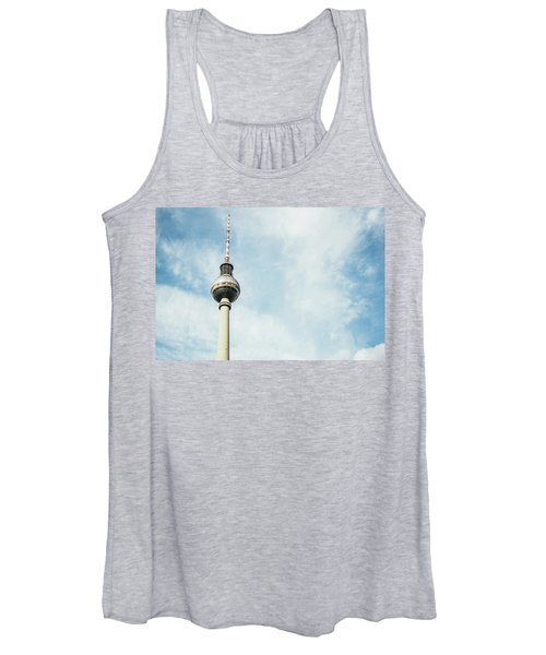 Fernsehturm Against Blue Sky Women's Tank Top