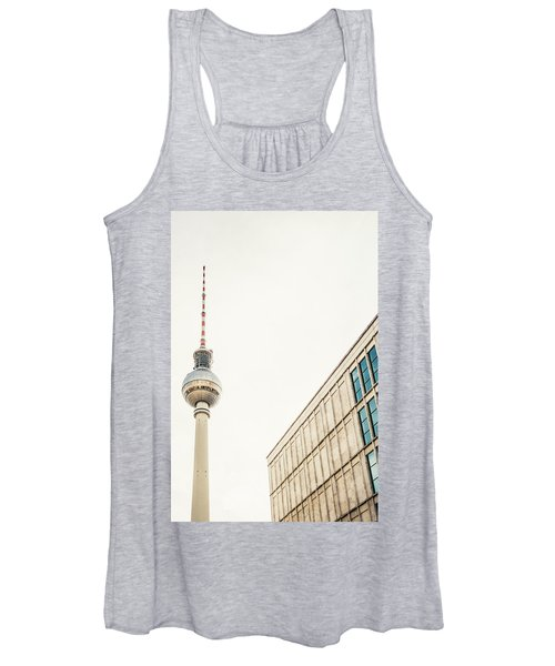 Fernsehturm And Building In Berlin Women's Tank Top