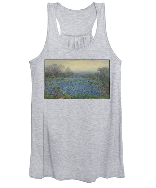 Field Of Bluebonnets Women's Tank Top