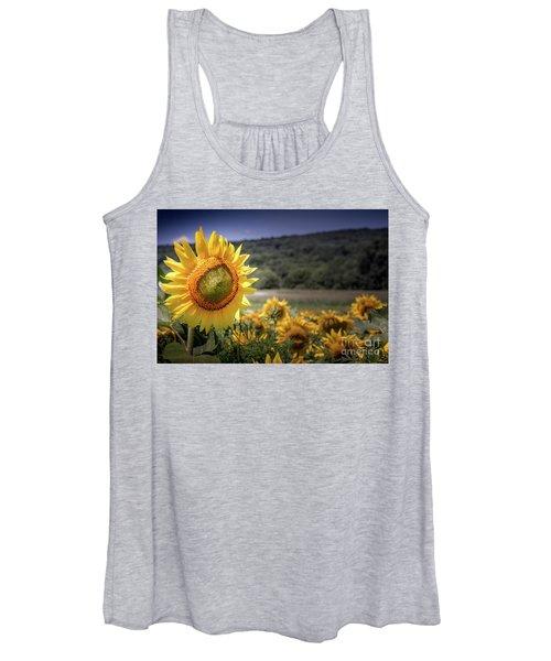 Field Of Sunflowers Women's Tank Top