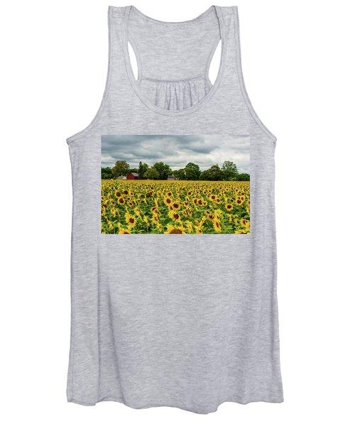 Field Of Sunshine Women's Tank Top