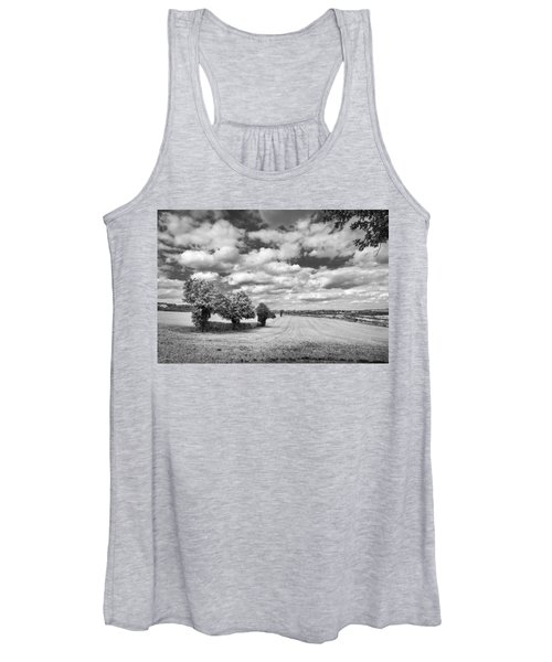 Fields And Clouds Women's Tank Top