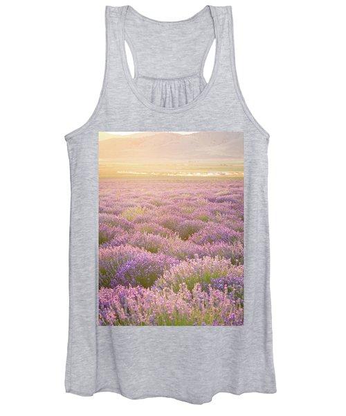 Fields Of Lavender Women's Tank Top