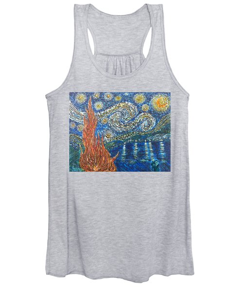 Fiery Night Women's Tank Top