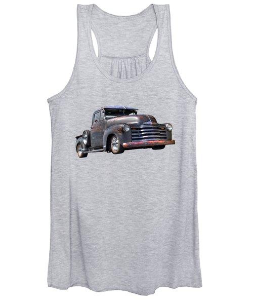 Fifties Rust - 1951 Chevy Women's Tank Top