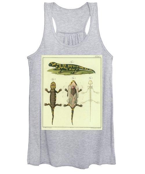 Fire Salamander Anatomy Women's Tank Top