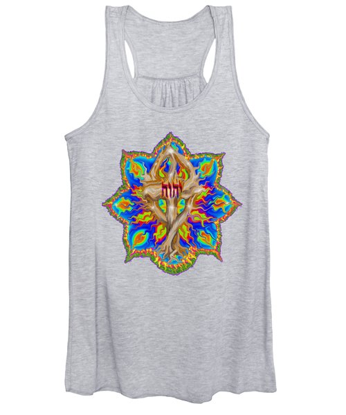 Fire Tree With Yhwh Women's Tank Top