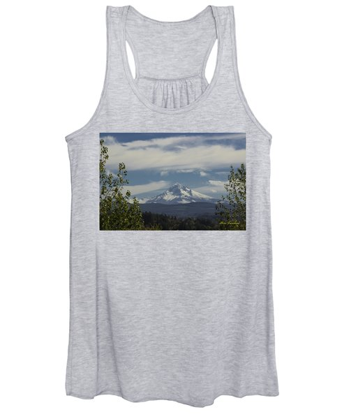First Snow Signed Women's Tank Top