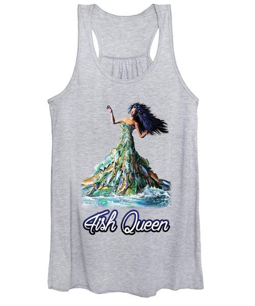 Fish Queen Women's Tank Top