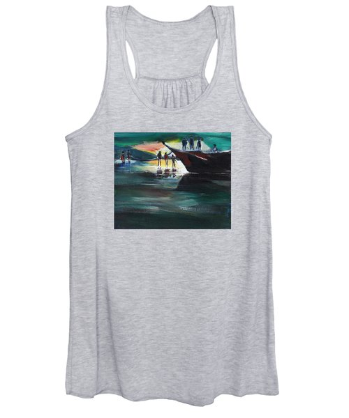Fishing Line Women's Tank Top