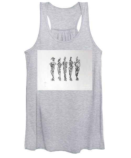 Five Muses Women's Tank Top