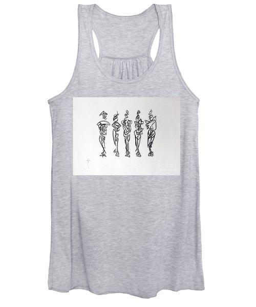 Five Muses Women's Tank Top