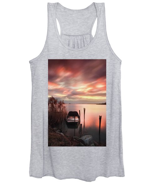 Flame In The Darkness Women's Tank Top