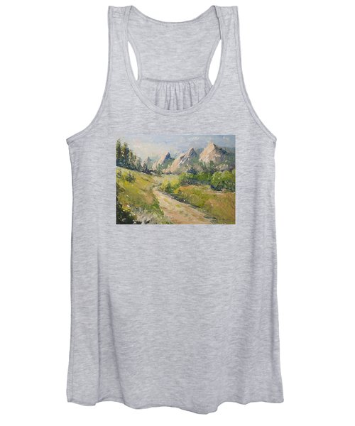 Flatirons In The Rockies Women's Tank Top