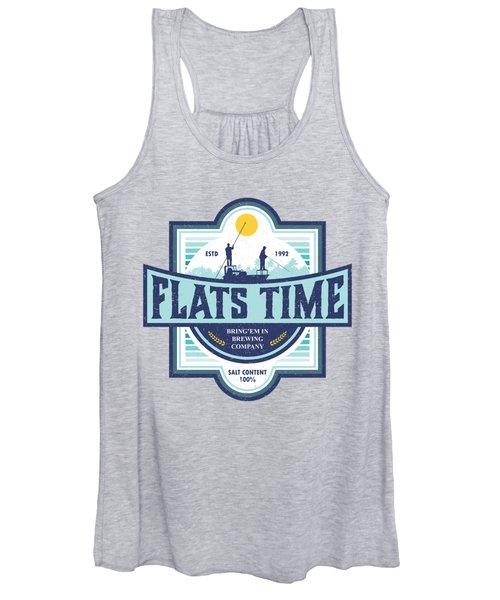 Flats Time Women's Tank Top