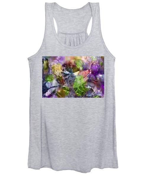 Floral Dream Of Oriental Beauty Women's Tank Top