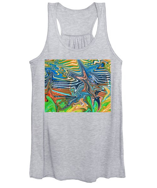 Flow Sketch Women's Tank Top