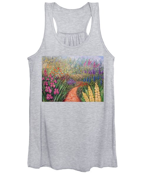 Flower Gar02den  Women's Tank Top