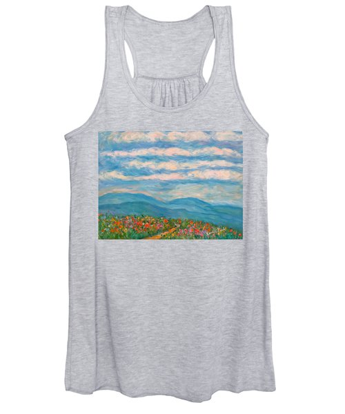 Flower Path To The Blue Ridge Women's Tank Top