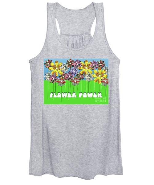 Flower Power Women's Tank Top