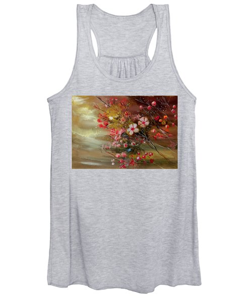Flowers 2 Women's Tank Top