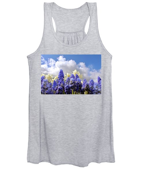 Flowers And Sky Women's Tank Top