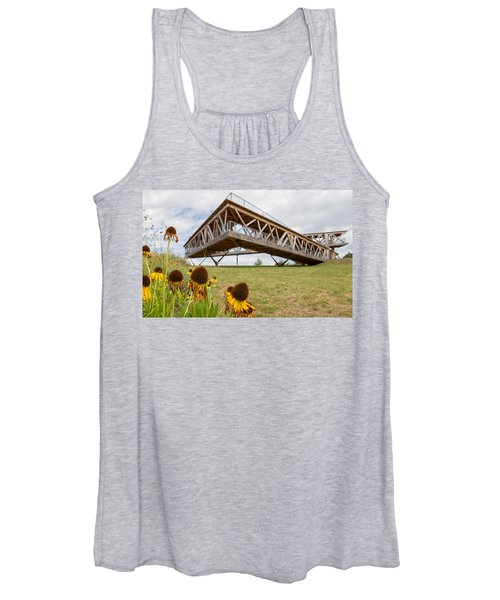 Flowers And The Belvedere Women's Tank Top