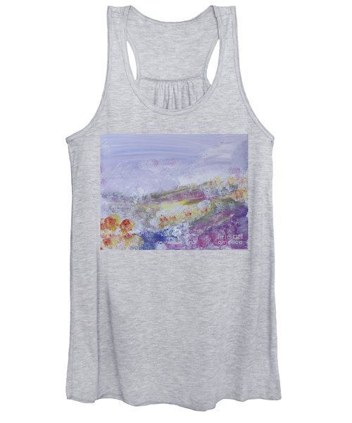 Flowers In The Ether Women's Tank Top