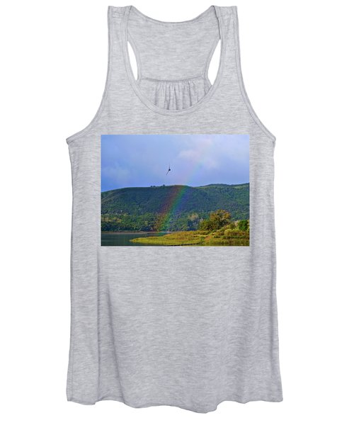 Fly Over The Rainbow Women's Tank Top