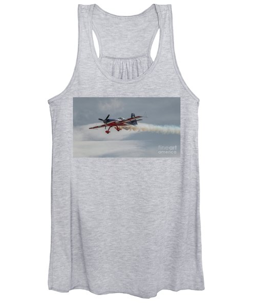 Flying Acrobatic Plane Women's Tank Top