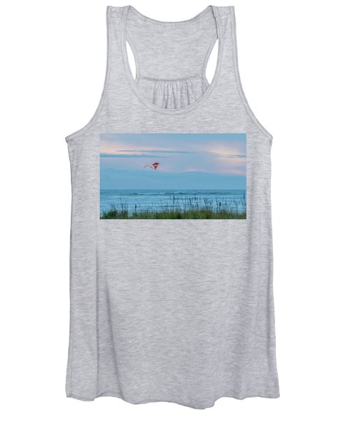 Flying High Over The Pacific Women's Tank Top