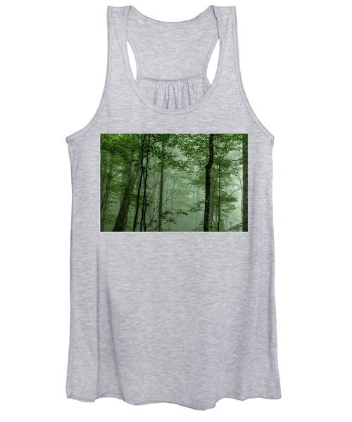 Fog In The Forest Women's Tank Top