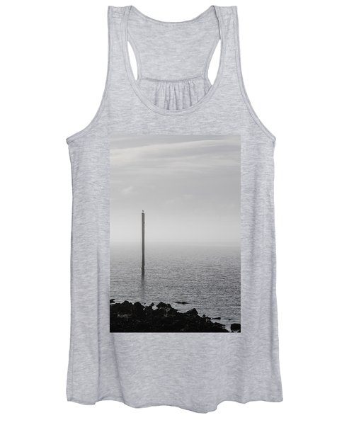 Fog On The Cape Fear River On Christmas Day 2015 Women's Tank Top