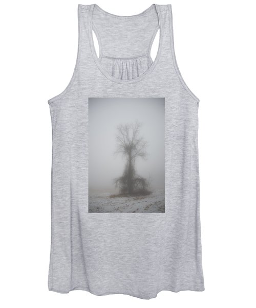 Foggy Walnut Women's Tank Top