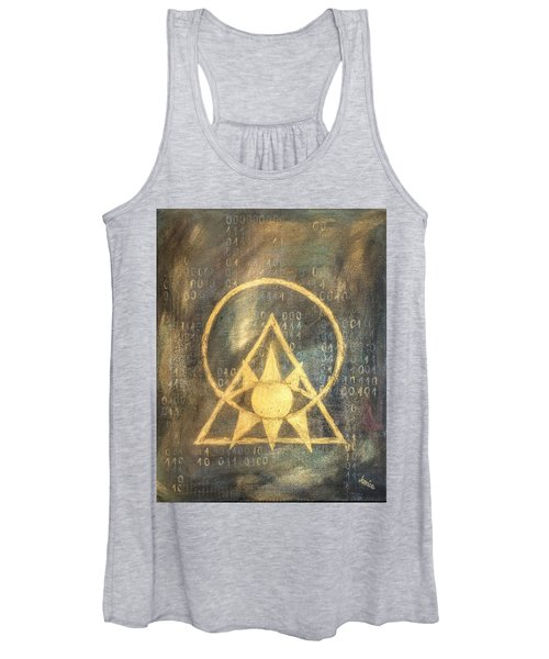 Follow The Light - Illuminati And Binary Women's Tank Top