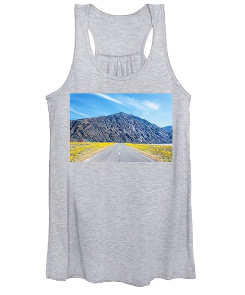 Follow The Yellow Lined Road Women's Tank Top
