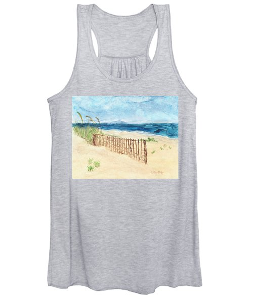 Folly Field Fence Women's Tank Top
