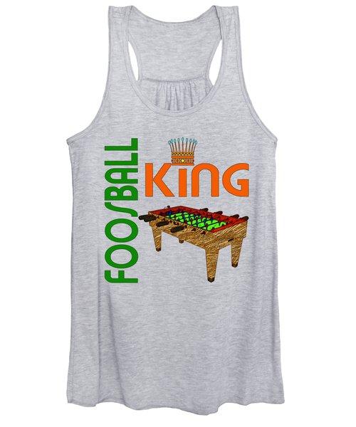 Foosball King Women's Tank Top